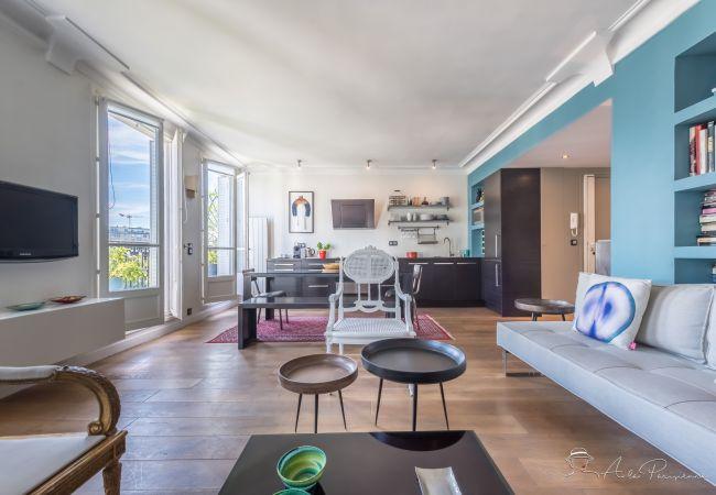 Apartamento em Paris - Bastille Luminous