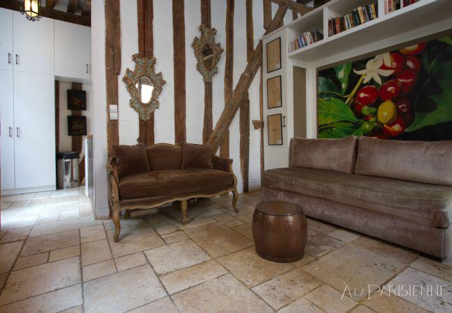 Apartamento em Paris - Marais Amorino Rustic