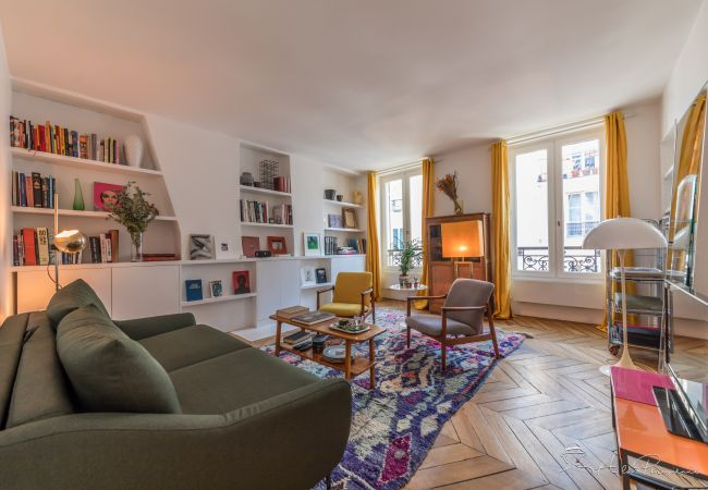 Apartamento em Paris - Republique Marais Charm