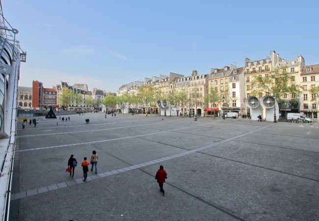Apartment in Paris - Marais Pompidou 2