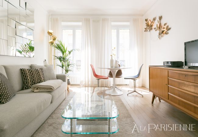 Apartment in Paris - Canal St Martin Design