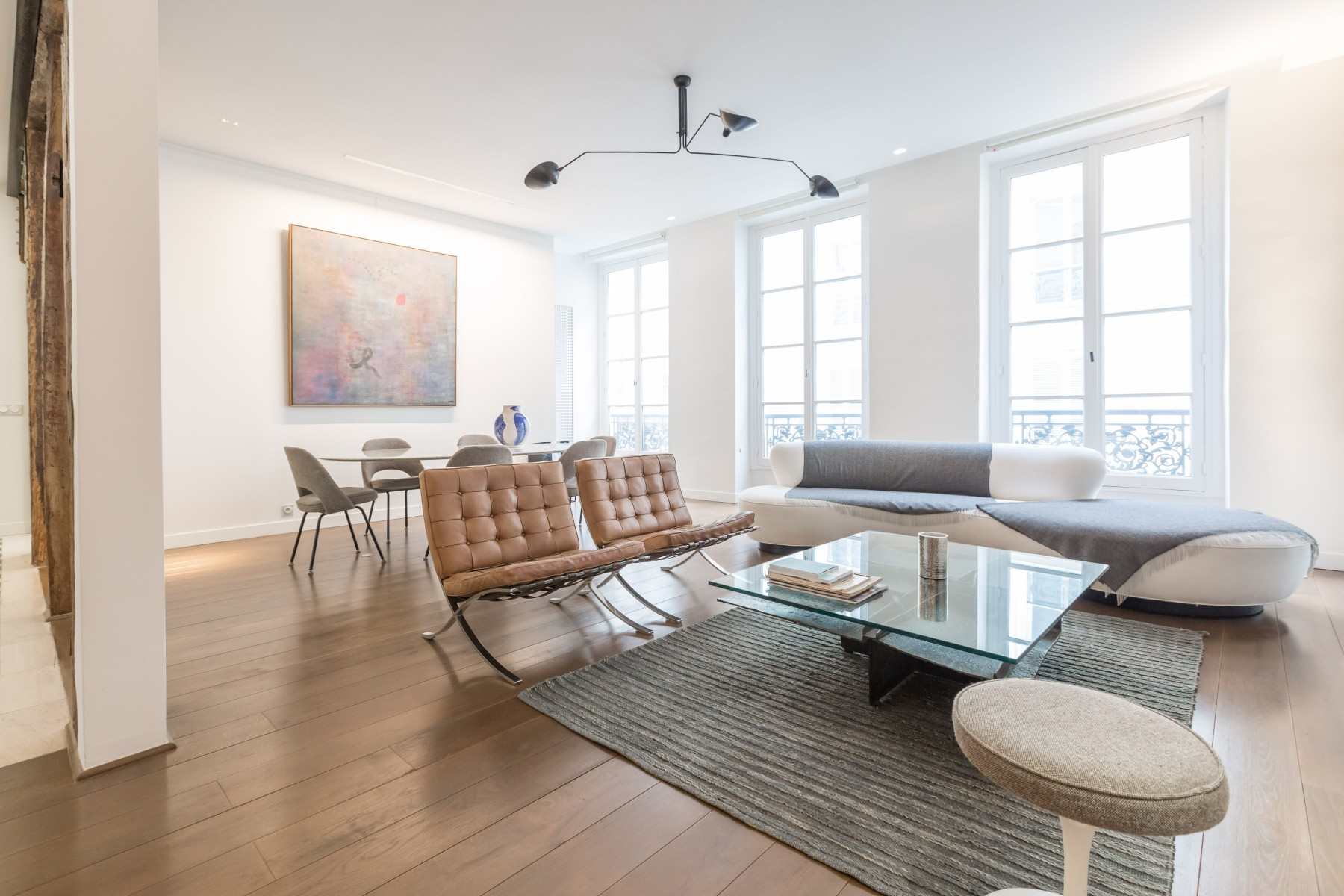 Apartment In Paris City Île Saint Louis Luxury