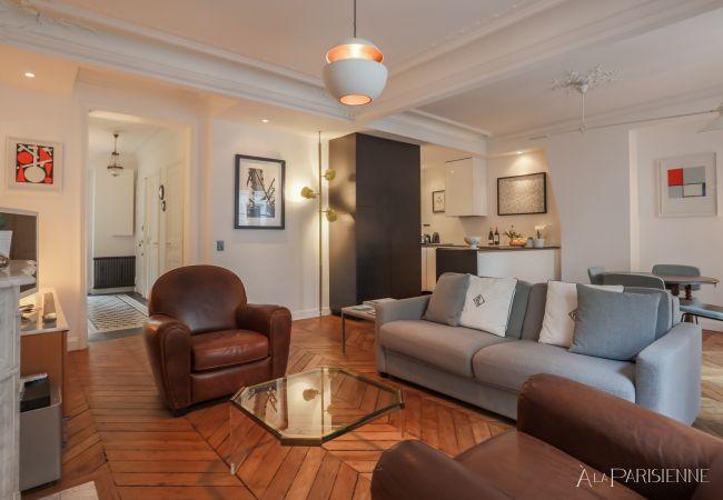 Appartement à Paris ville - Canal St Martin Style