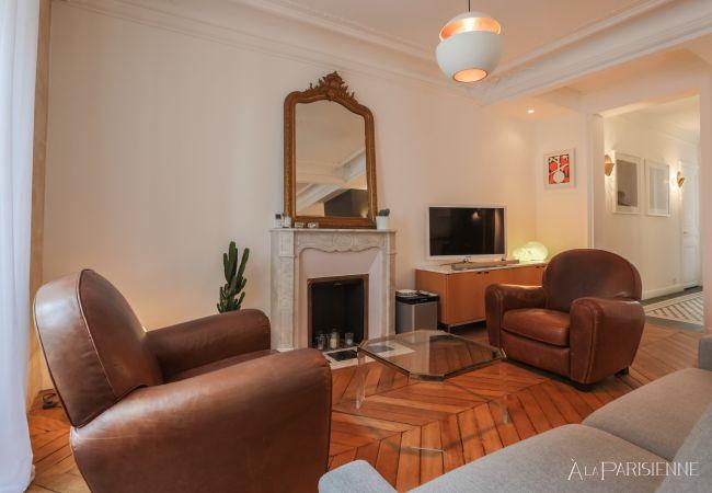 Appartement à Paris - Canal St Martin Style