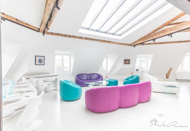 Appartement à Paris - Haussmann Loft Penthouse